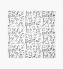 Halloween Icons | Black and White Scarf
