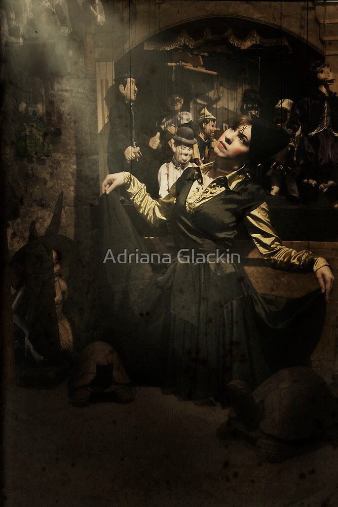 ~ the marionette ~ by Adriana Glackin