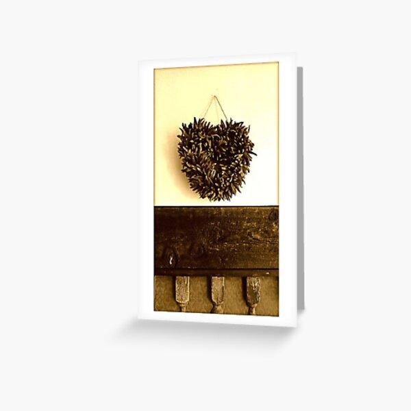 Corazon Greeting Card