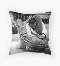 Big Mick Wilson x Douglas Santos Throw Pillow