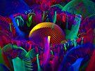 Physcedelic Mushrooms by Virginia N. Fred
