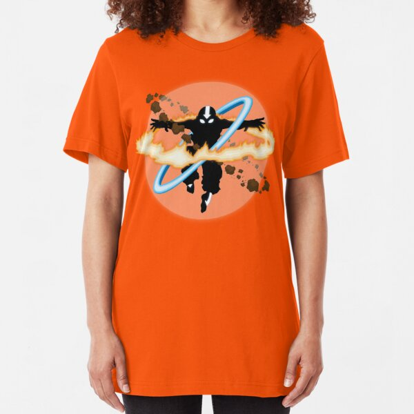 Aang going into uber Avatar state Slim Fit T-Shirt
