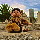 Graveyard Leopard Doll by jlara