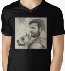 Orion and Sirius Men's V-Neck T-Shirt