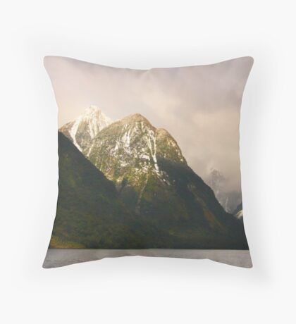 Halcyon Glow Throw Pillow