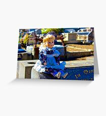 Gravestone Pollyanna Greeting Card
