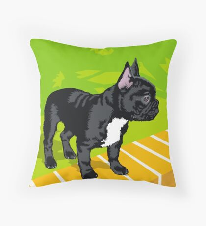 Diesel again Throw Pillow