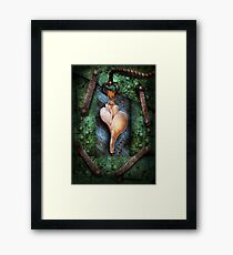 Steampunk - Sections  Framed Print