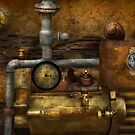 Steampunk - The device by Michael Savad