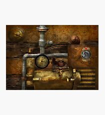 Steampunk - The device Photographic Print