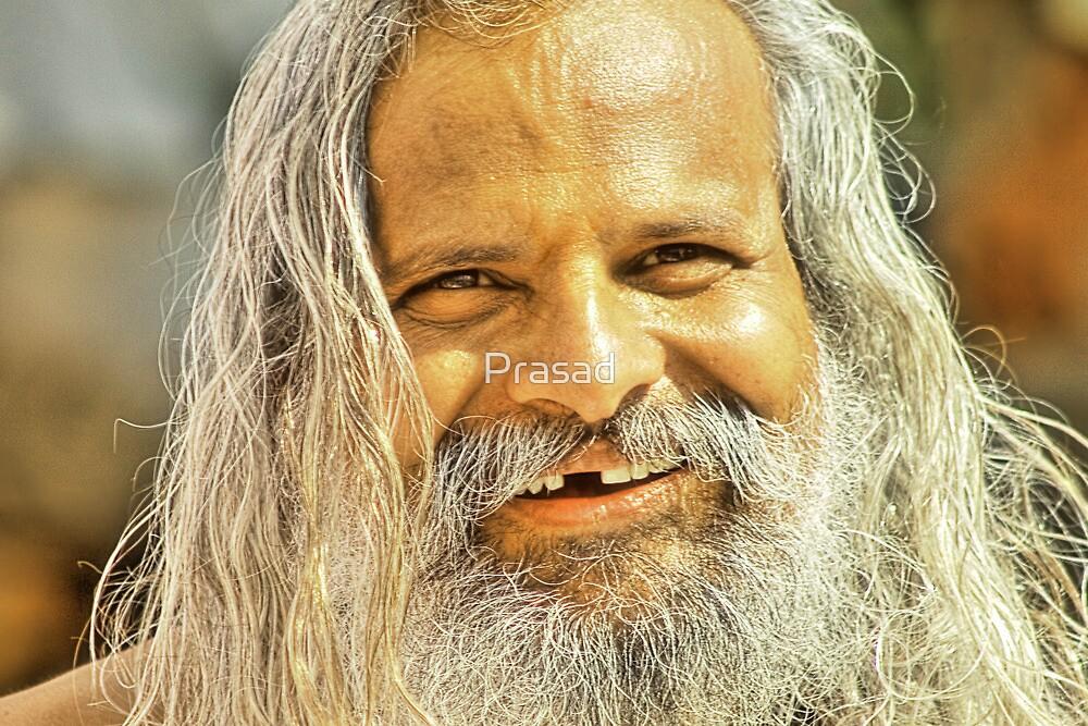 The monk in the Waari #1 by Prasad