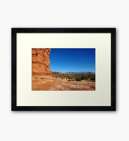 Arches National Park, Utah USA Framed Print