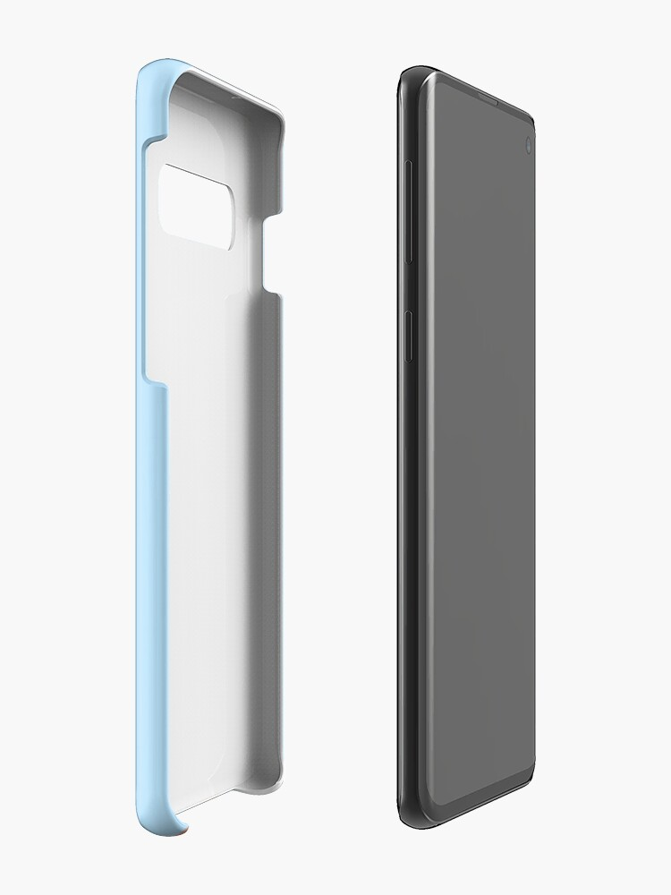 Alternate view of UnBurnt Fingers Case & Skin for Samsung Galaxy