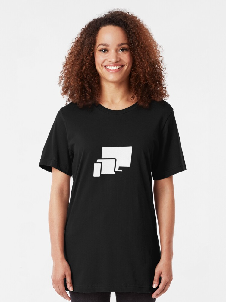 Alternate view of Phone Laptop Desktop Technology Slim Fit T-Shirt