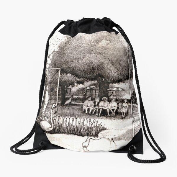 The Zoo  Drawstring Bag