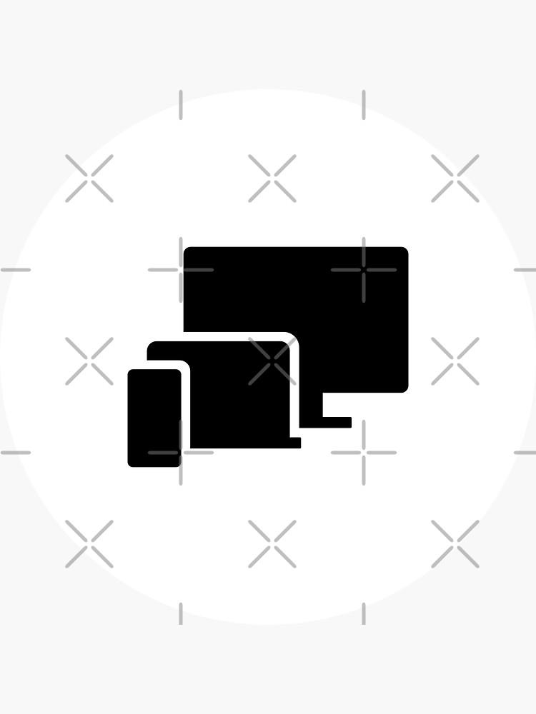 Phone Laptop Desktop Technology (Inverted) by developer-gifts