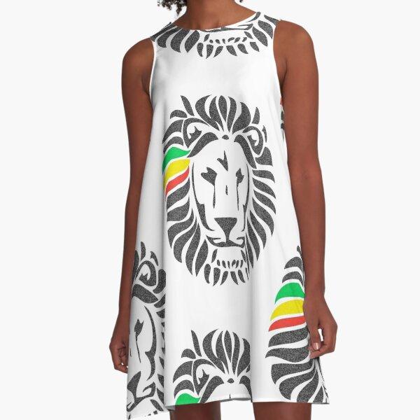 Lion Tuff  A-Line Dress