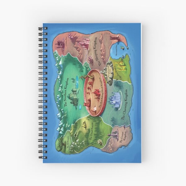 The Land Of Stories Spiral Notebook