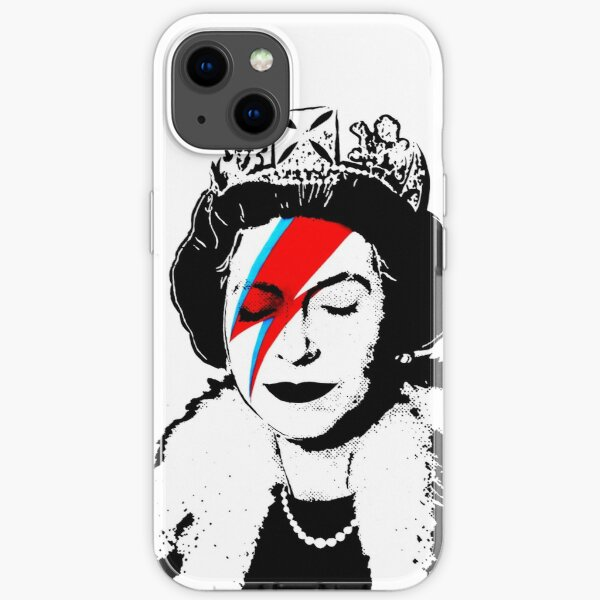 Banksy - Space Queen iPhone Soft Case