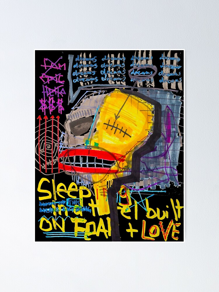 Alternate view of Sleeping in a Hotel Built on Fear & Love Poster
