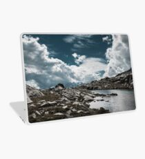 clouds in the mountains Laptop Skin