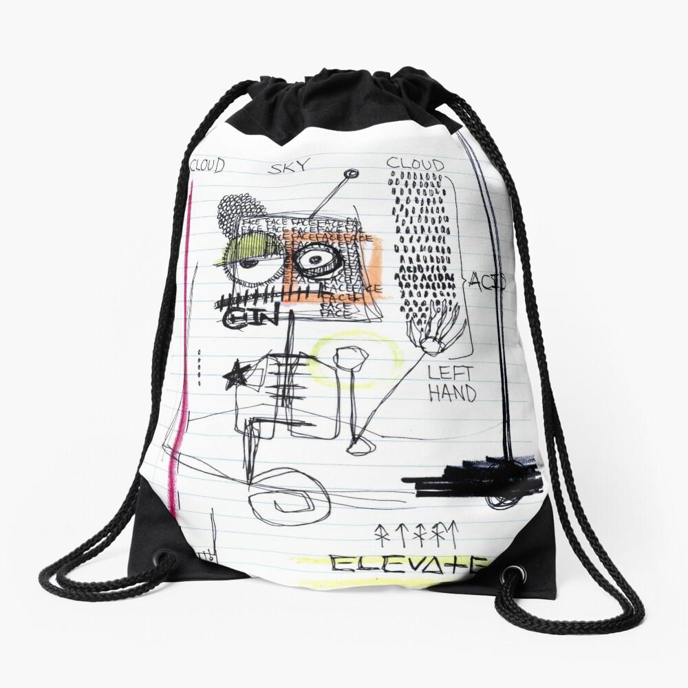 Weather System Drawstring Bag