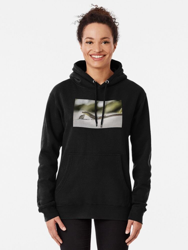 Alternate view of The charming lizards Pullover Hoodie