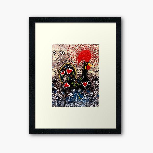 Portuguese Rooster 3 Framed Art Print