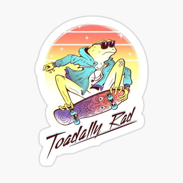 Toadally Rad Sticker