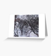 Hare's arctic lair Greeting Card