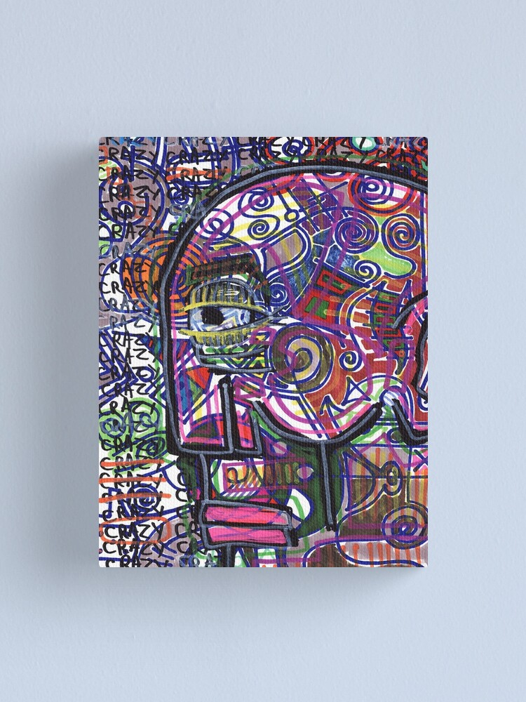 Alternate view of A Bit Normal Canvas Print