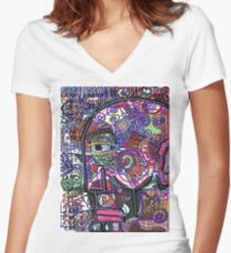 A Bit Normal Fitted V-Neck T-Shirt