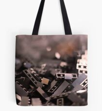 Black Legos  Tote Bag