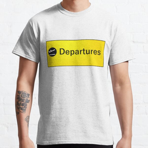 London Heathrow Departures Classic T-Shirt