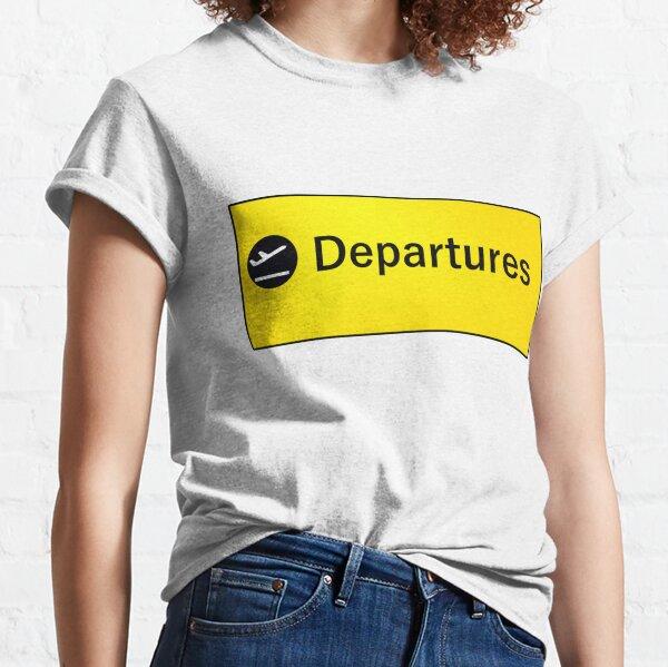 London Heathrow Departures Classic T-Shirt