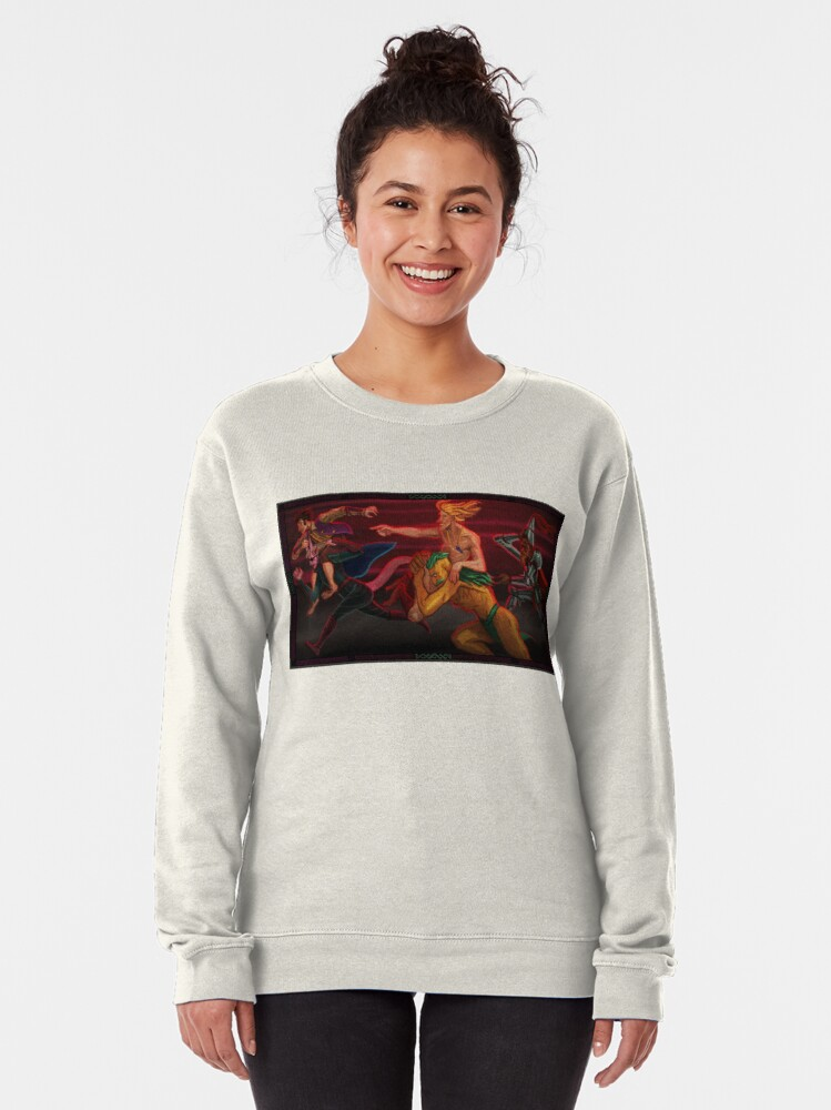 Alternate view of Toward Danger Pullover Sweatshirt
