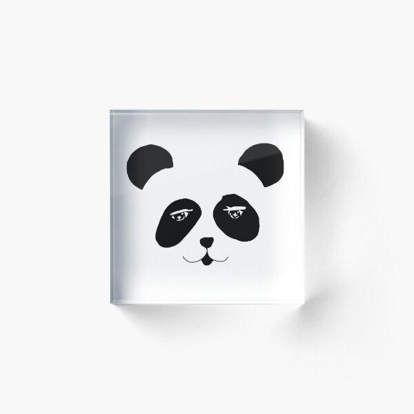 Panda Acrylic Block