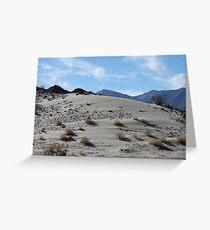 Desert Dune Sand Ripples Greeting Card
