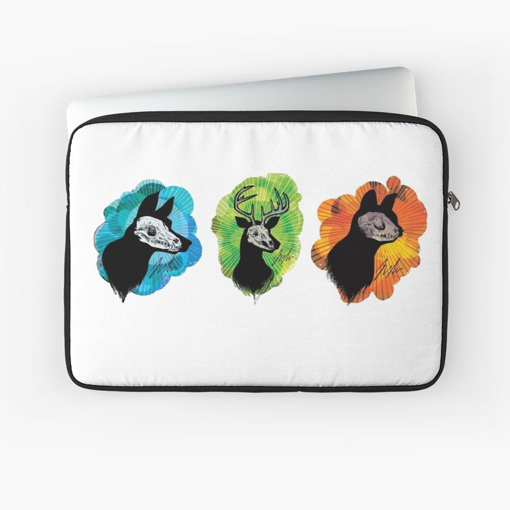 SKull Trio Laptop Sleeve