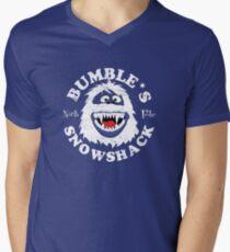 Bumble's Snowshack Men's V-Neck T-Shirt