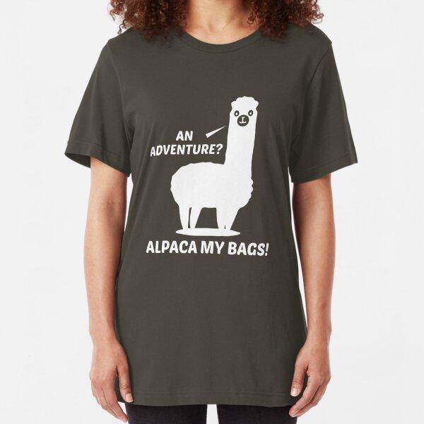 Alpaca My Bags Slim Fit T-Shirt