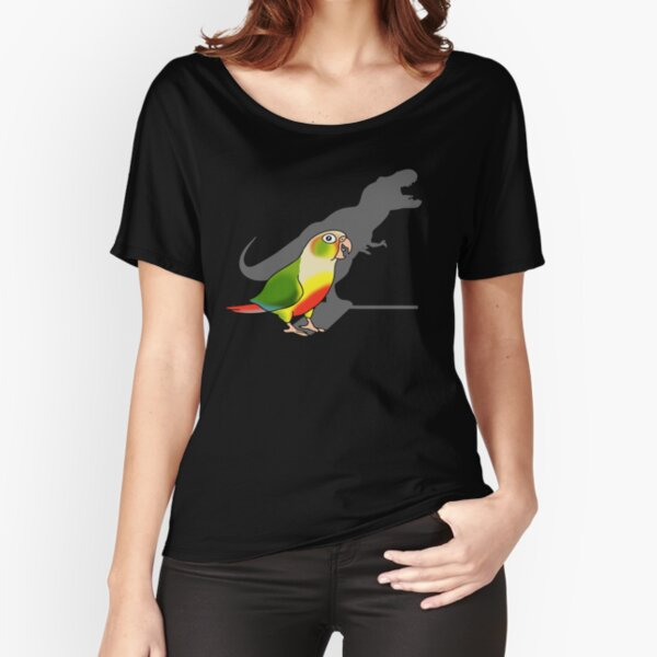 T-rex shadow - Pineapple Conure Relaxed Fit T-Shirt