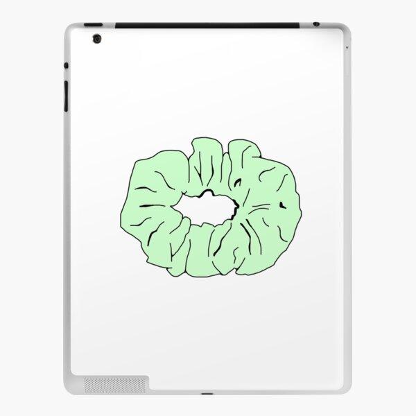 Light Green Scrunchie iPad Skin