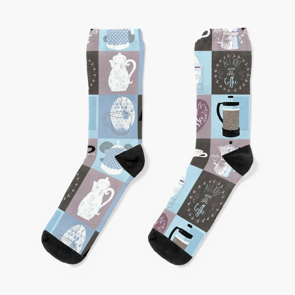 Coffee Time Socks