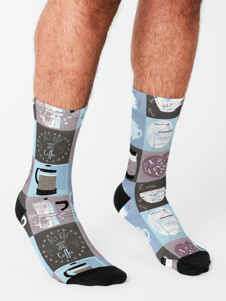 Alternate view of Coffee Time Socks