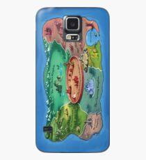 Le pays des histoires Coque et skin Samsung Galaxy