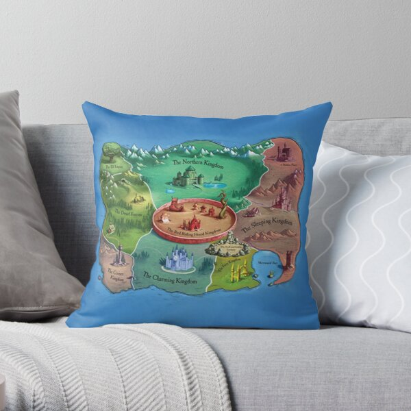 The Land Of Stories Throw Pillow