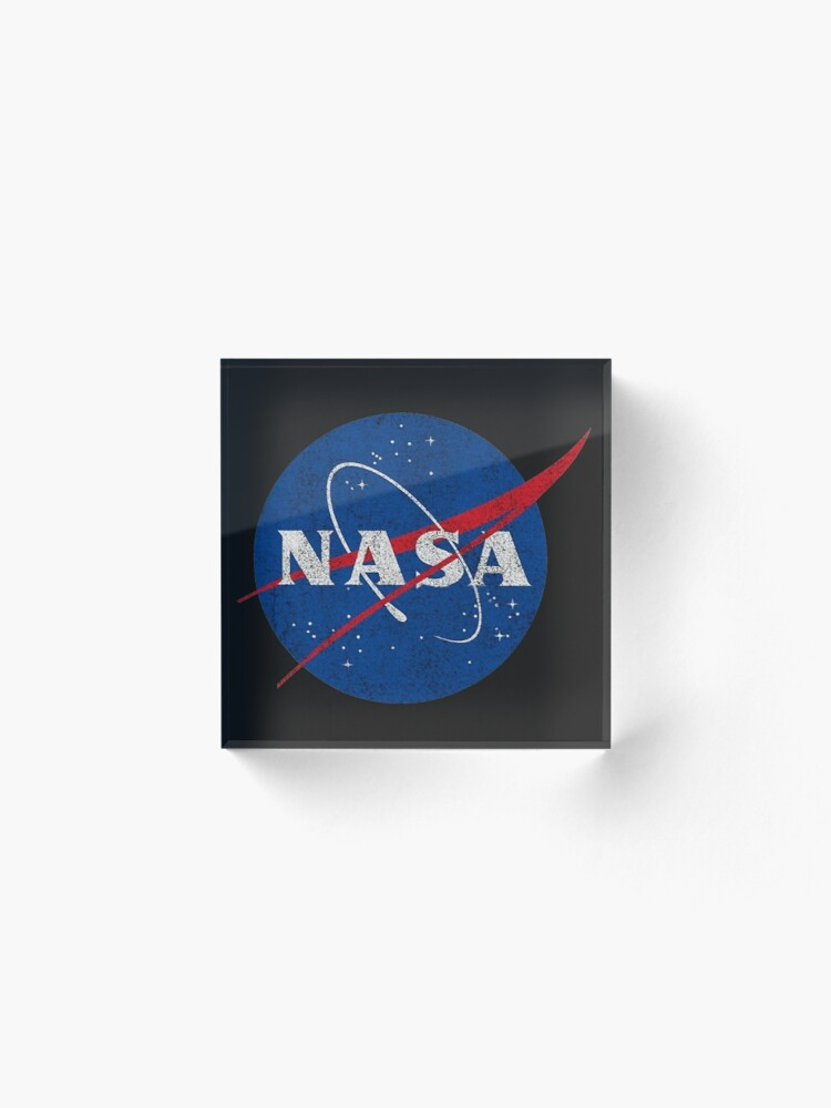 Alternate view of NASA Acrylic Block
