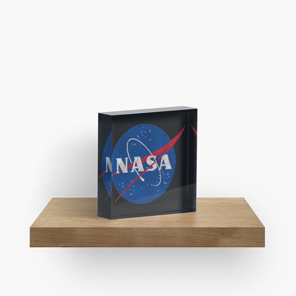 NASA Acrylic Block