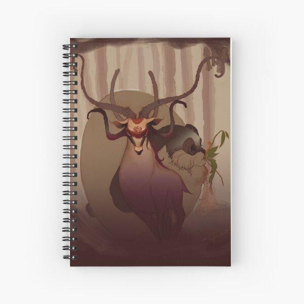 Ciervantes & Pepín le Lapin Spiral Notebook